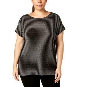 Ideology Women's Plus Running Fitness T-Shirt Top